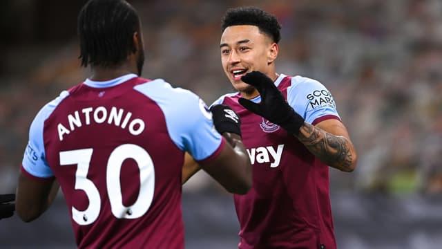Antonio et Lingard - West Ham