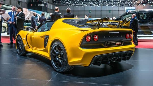 Lotus dans toute sa splendeur, mélange de classe et de sportivité récidive avec l'Exige 350 Roadster.