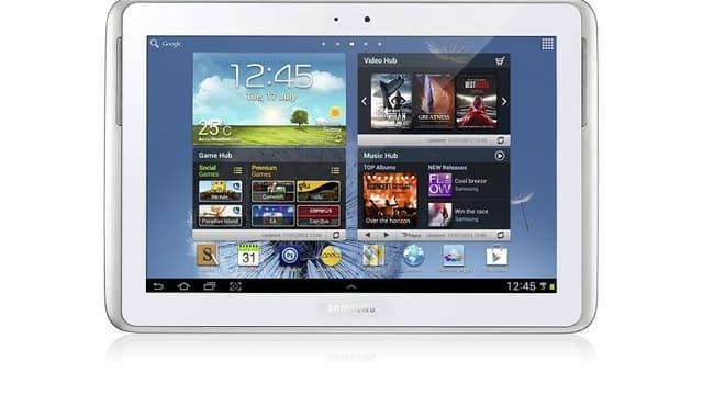 Avec sa Galaxy Note 10.1, Samsung veut concurrencer Apple sur le terrain des tablettes tactiles.