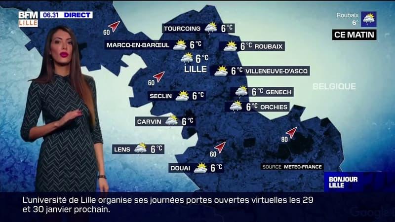 Météo Lille: du vent et du soleil au programme ce jeudi matin, de la pluie dans l'après-midi