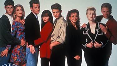 Les héros de Beverly Hills dans les années 1990.