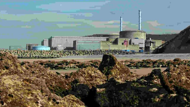 La centrale nucléaire de Penly, le 15 mars 2011.