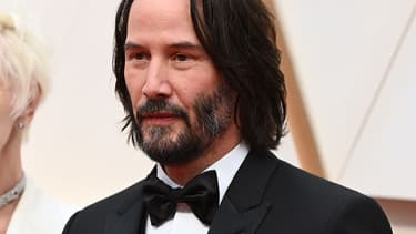 Keanu Reeves aux Oscars 2020 en février 2020.
