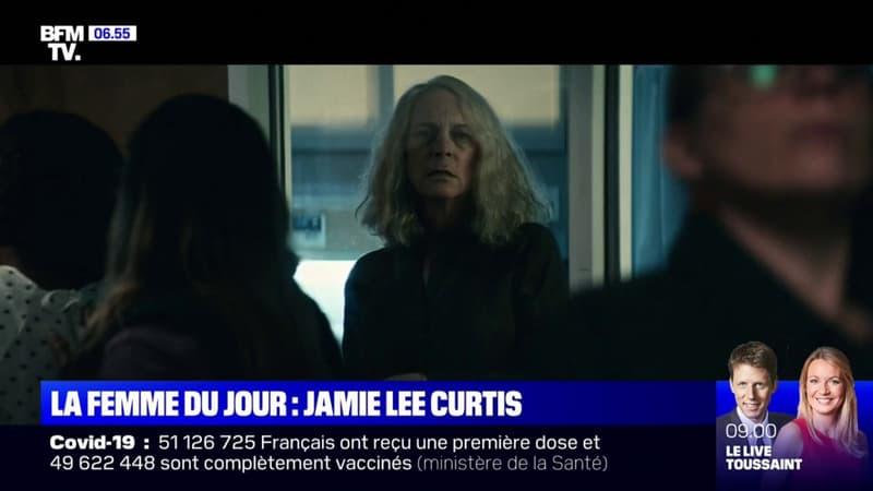 Regarder la vidéo Jamie Lee Curtis revient au cinéma d'horreur dans