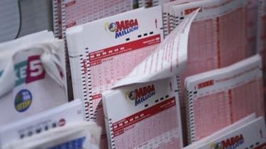 Un ticket de loterie américain - Image d'illustration