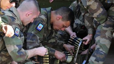 Des soldats français lors de l'opération Serval au Mali