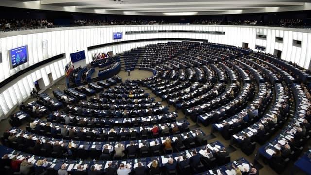 Le parlement européen - Image d'illustration -