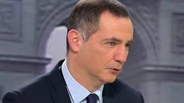 Gilles Simeoni sur le plateau de BFMTV-RMC, le 18 janvier 2016.