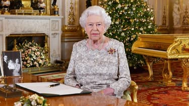 La reine Elizabeth II lors de son message de Noël diffusé mardi sur les chaînes de télévision britanniques.