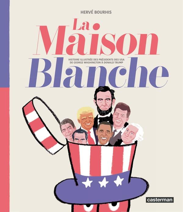 """La couverture de """"La Maison Blanche"""""""