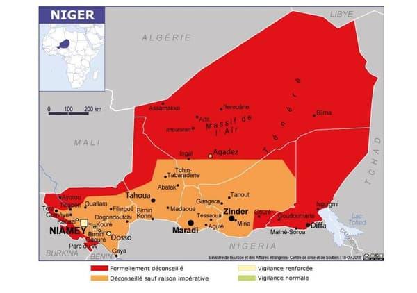 Le Niger analysé par le Quai d'Orsay.