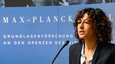 Emmanuelle Charpentier à Berlin.