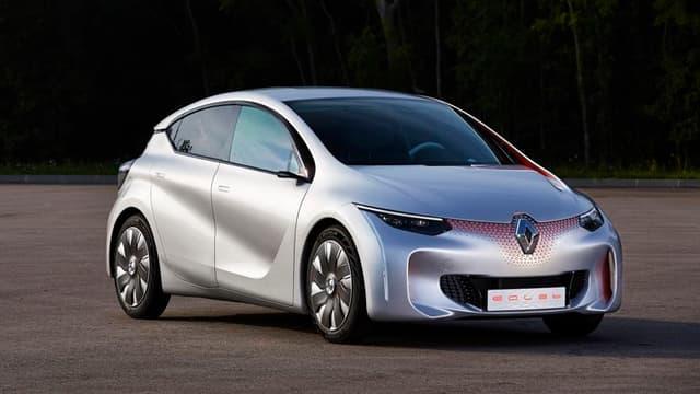 Le concept-car Eolab de Renault donne une idée de ce que sera l'automobile dans vingt ans.