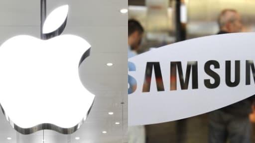 La guerre des brevets entre Apple et Samsung n'est toujours pas terminée.