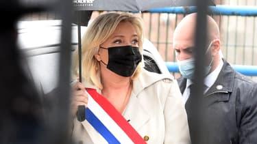 Marine Le Pen à Hénin-Beaumont, le 8 mai 2021