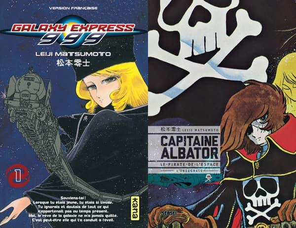 Galaxy Express 999 et Capitaine Albator de Leiji Matsumoto