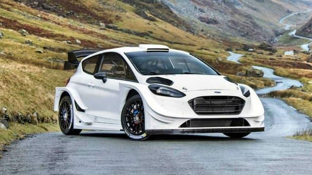 En 2017, Sébastien Ogier pilotera cette Ford Fiesta WRC de 380 chevaux.