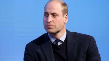 Le prince William à Londres, le 28 février 2018