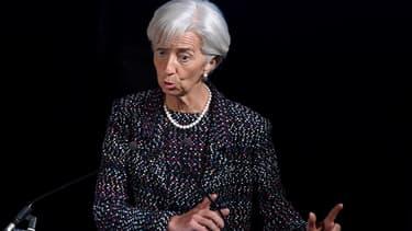 """Christine Lagarde considère que le dossier grec est à """"mi-chemin"""""""