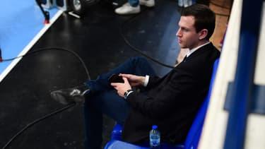 Julien Deljarry, président du Montpellier Handball, à Paris le 14 novembre 2019