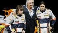 Alonso, Briatore et Piquet Jr, le trio de renault