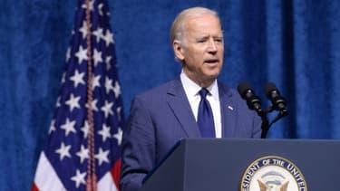 Joe Biden, alors vice-président des Etats-Unis, lors d'un déplacement dans le Tennessee en août 2015 (photo d'illustration)
