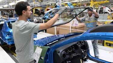 L'usine de Renault à Melloussa