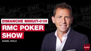 """RMC Poker Show – François Degryse présente son roman """"Double chance"""""""