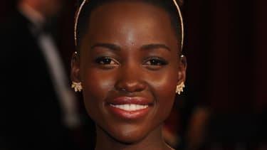 Lupita Nyong'o, lors de la cérémonie des Oscars, le 2 mars 2014.