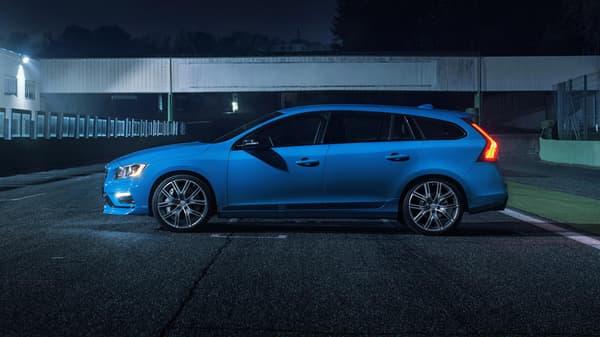 Ce n'est pas sur ce point que Volvo était attendu au tournant et comme d'habitude, la nouvelle V60 Polestar est très agréable à regarder.