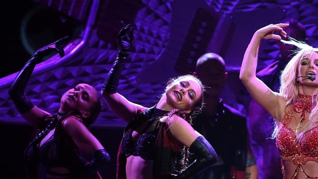 Britney Spears sur scène, le 22 mai 2016