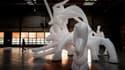 Un oeuvre de la Biennale, en 2019