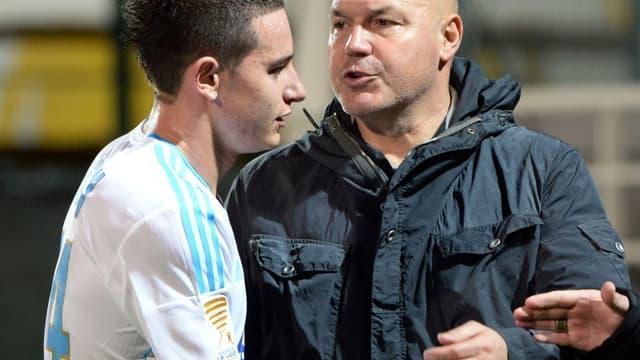 José Anigo et Florian Thauvin
