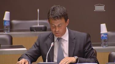 Manuel Valls s'est expliqué mardi devant la commission Cahuzac.