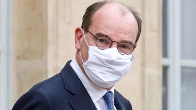 Le Premier ministre Jean Castex à Paris le 3 février 2021