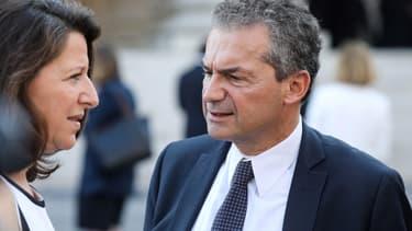 La ministre de la Santé Agnès Buzyn et son mari Yves Lévy, président par intérim de l'Inserm.