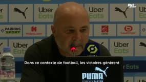 """OM 4-1 Lorient : Une victoire """"qui donne une vraie tranquillité"""" respire Sampaoli"""