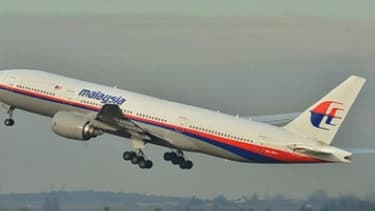 L'avion qui s'est abîmé dans l'océan Indien est un Boeing 777, comme celui-ci.