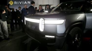 Rivian compte sur une mise en production de son R1T en cours d'année, et une mise en vebte l'année prochaine.