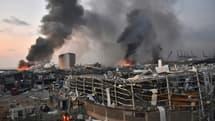 Deux puissantes explosions ont secoué la ville de Beyrouth, le 4 août 2020