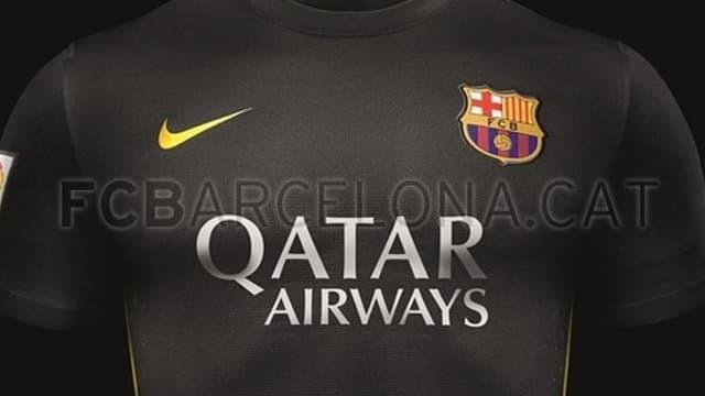 Maillot noir du FC Barcelone