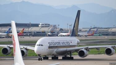 Un A380 de Singapore Airlines