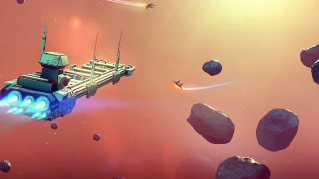 Le jeu vidéo No Man's Sky.
