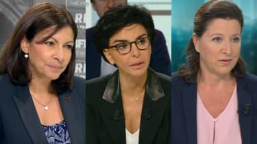 Anne Hidalgo, Rachida Dati, Agnès Buzyn.