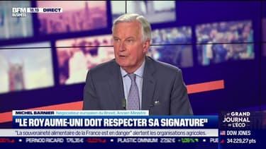 "Michel Garnier, Brexit : ""Le Royaume-Uni doit respecter sa signature'"