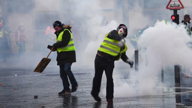 50.000 manifestants étaient rassemblés ce samedi dans toute la France.