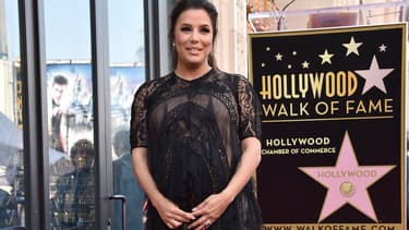 Eva Longoria a reçu son étoile sur le Hollywood Walk of Fame