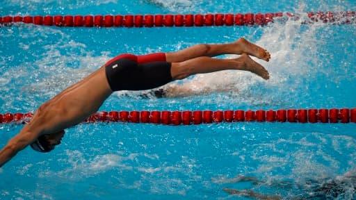 Nathan Adrian (ici à Barcelone) sera présent au Singapore Swim Stars.