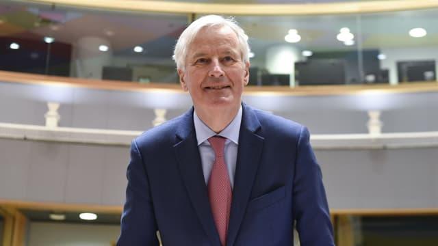 Michel Barnier, négociateur en chef de l'UE pour le Brexit
