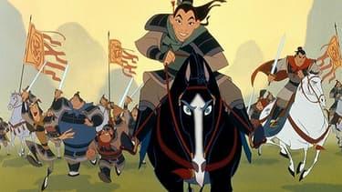 Mulan, héroïne du dessin animé de Disney.